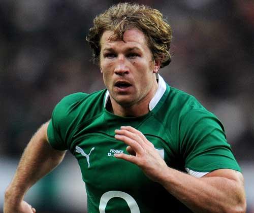 Ireland hooker Jerry Flannery