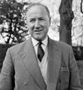 A portrait of Glamorgan CCC secretary Wilf Wooller